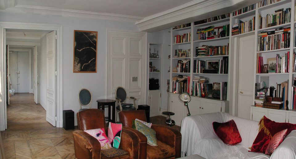 appartement 80 m2 paris 2 charlotte lardeyret. Black Bedroom Furniture Sets. Home Design Ideas